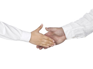 business hands agreement