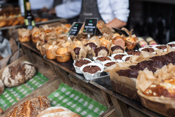 sweet organic pastry