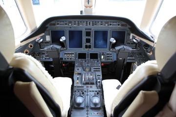 Business Jet Cockpit