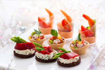Appetizers for holiday