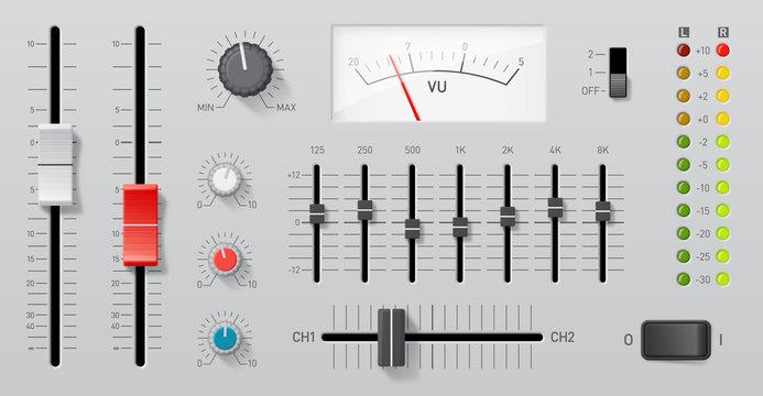 Controles audio vectoriels 1
