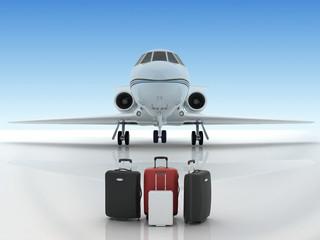 airport suitecases