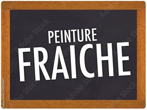 Panneau peinture fraiche photo libre de droits sur la banque d 39 images image 46260467 - Attention peinture fraiche ...