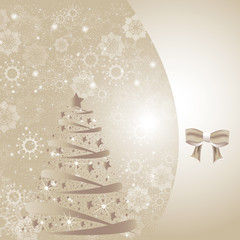 Beautiful winter christmas winter card or backdrop