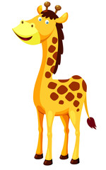 illustration of cartoon giraffe Vector