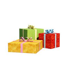 gift 3d render