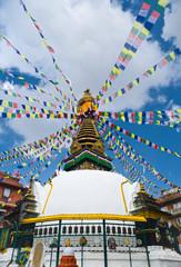 Buddha Stupa in Kathmandu, Nepal