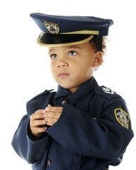 Tiny Officer's Portrait