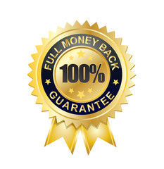 100 full moneyback guarantee