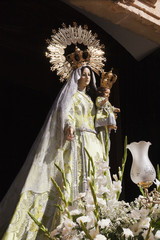 Sculpture of Our Lady of the Rosary