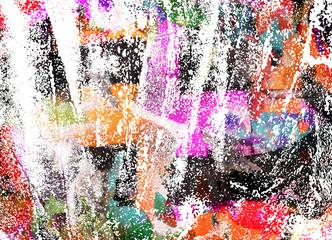 Fototapete - graffiti paint
