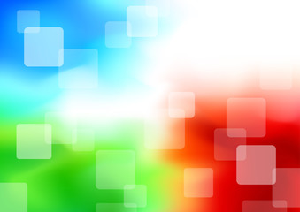 Colorful transparent background - synergy