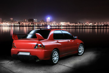 Night sport car