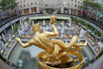 New York Rockefeller Center Prometheus
