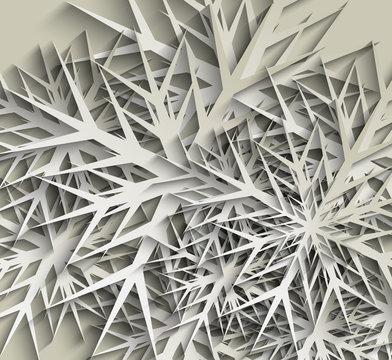 Snowflakes Christmas Design