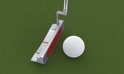 Il golf: il putter