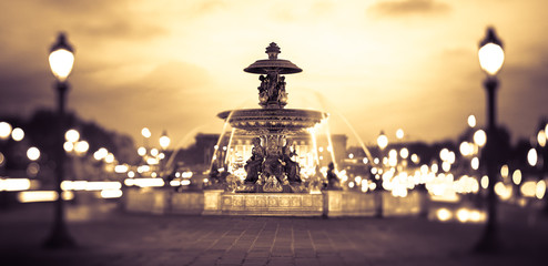 Canvas Print - Paris Place de la Concorde