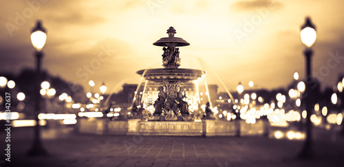 Canvas Prints Paris Place de la Concorde