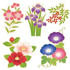 和花 イラスト