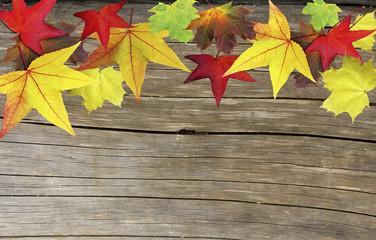 Herbstliche Pinnwand