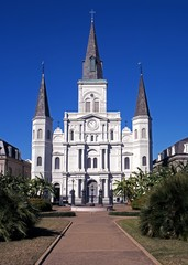 Cathedral, New Orleans, USA © Arena Photo UK