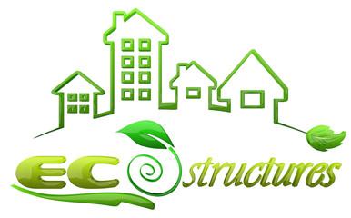 Eco Structures Logo design