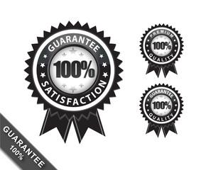 100 guarantee  and quality black