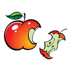 Apple Leftover Bit fruit