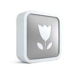 Season tulip flower icon