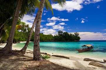 Aluminium Prints Indonesia beatiful beach