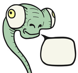 Funny reptil