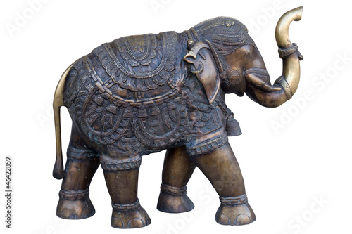 Elephant Handicraft Jodhpur Rajasthan India Asia Stock Photo