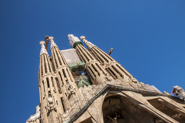 La Sagrada Familia-BARCELONA, SPAIN