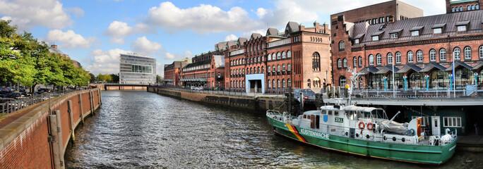 Hamburg / Zollkanal Panorama