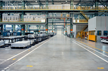 Automotive sheet metal processing plant