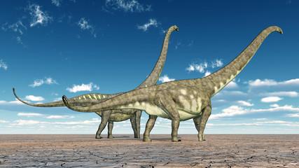 Dinosaur Mamenchisaurus