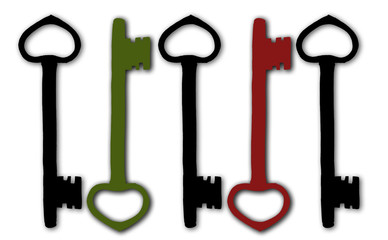 Schlüssel Illustration