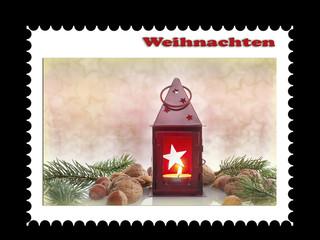Briefmarke Weihnachten