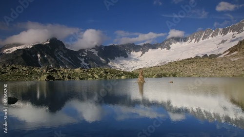 Fotomurales Time lapse in the Alps