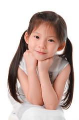 close up photo of asian girl