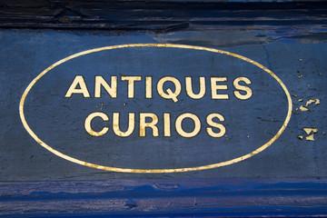 Antiques and Curios