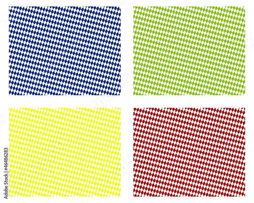 rautenmuster hintergrund in 4 farben blau gr n gelb rot stockfotos und lizenzfreie. Black Bedroom Furniture Sets. Home Design Ideas
