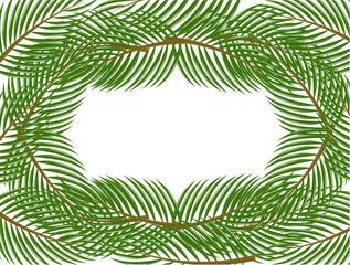 Pine frame