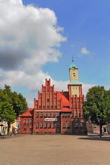 Wittstock Rathausplatz