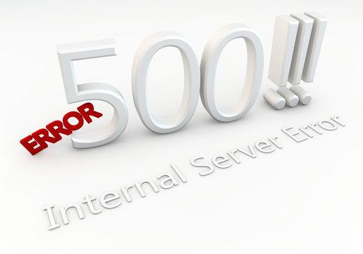 Error 500 !!! Internal Server Error