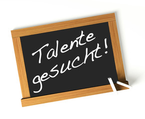 Talente gesucht! Button, Icon