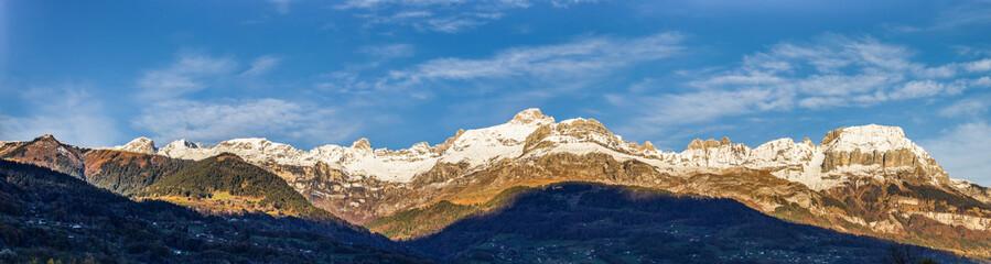 Aravis Mountain Range
