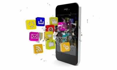 breaking apps
