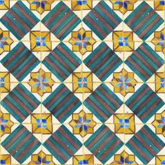 texture of ancient ceramic tiles