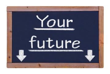 Tafel Zukunft Future  #121105-006